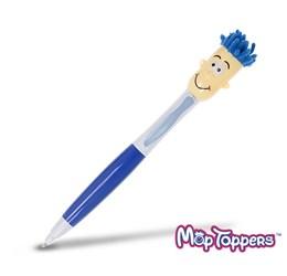 Moptopper 3In1 Pen Highlighter  Blue Only