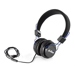 Aztec Wired Headphones  Blue Only