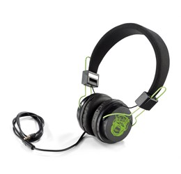 Aztec Wired Headphones  Lime Only