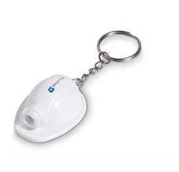 Construction Torch Keyholder  Solid white Only