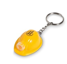 Construction Torch Keyholder  Yellow Only