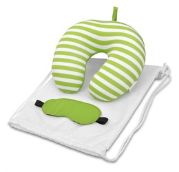 Kooshty Comfy Travel Set  Lime Only