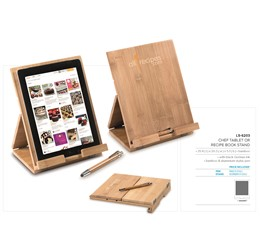 Chef Tablet Or Recipe Book Stand