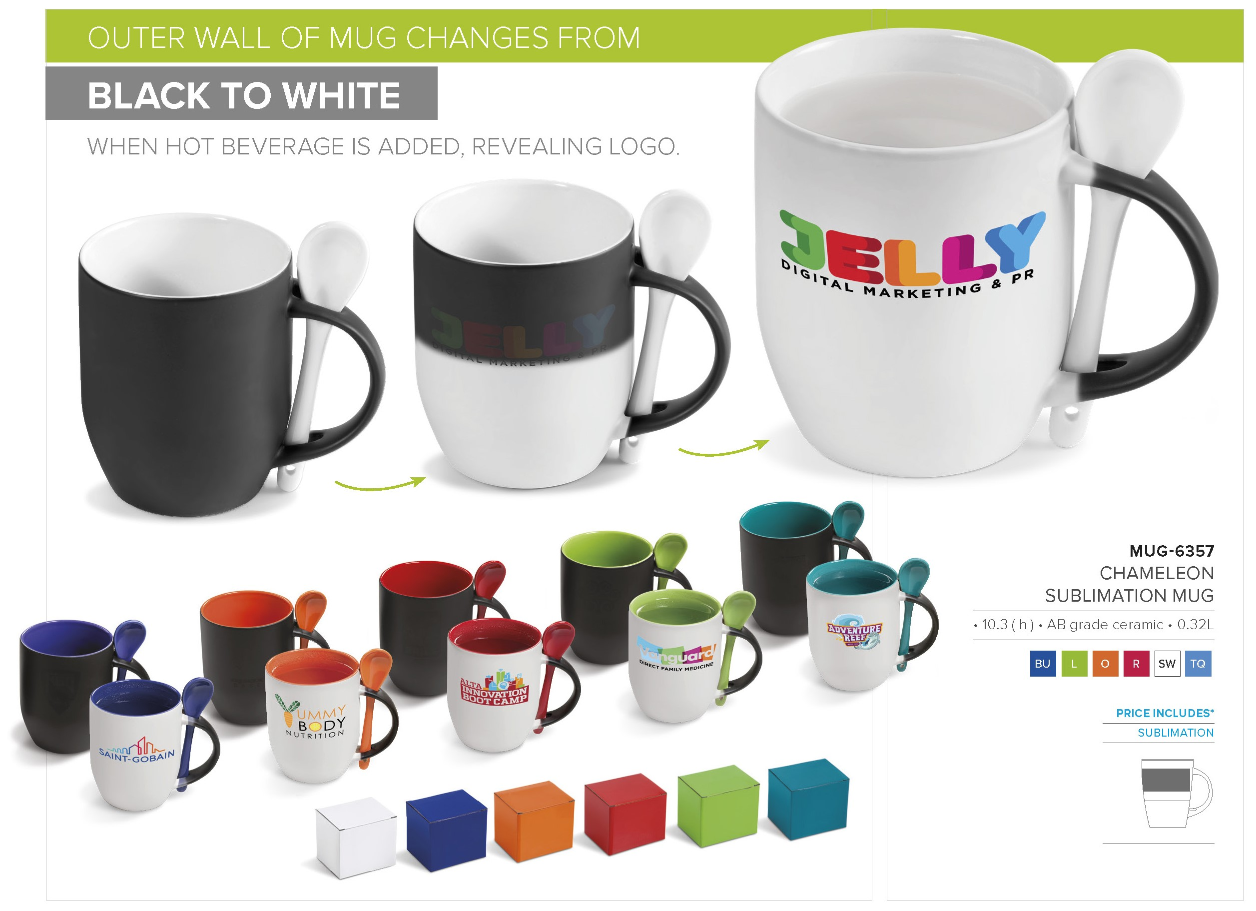How do Colour Changing Coffee Mugs Work?