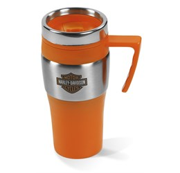 Altos DoubleWall Travel Mug  450ml  Orange Only