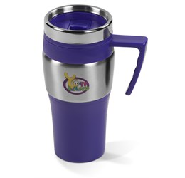 Altos DoubleWall Travel Mug  450ml  Purple Only