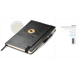 Excelsior A5 Notebook  Black