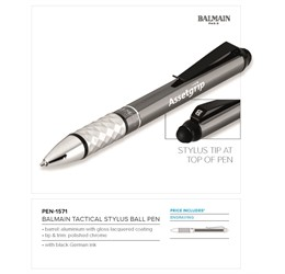 Balmain Tactical Stylus Ball Pen