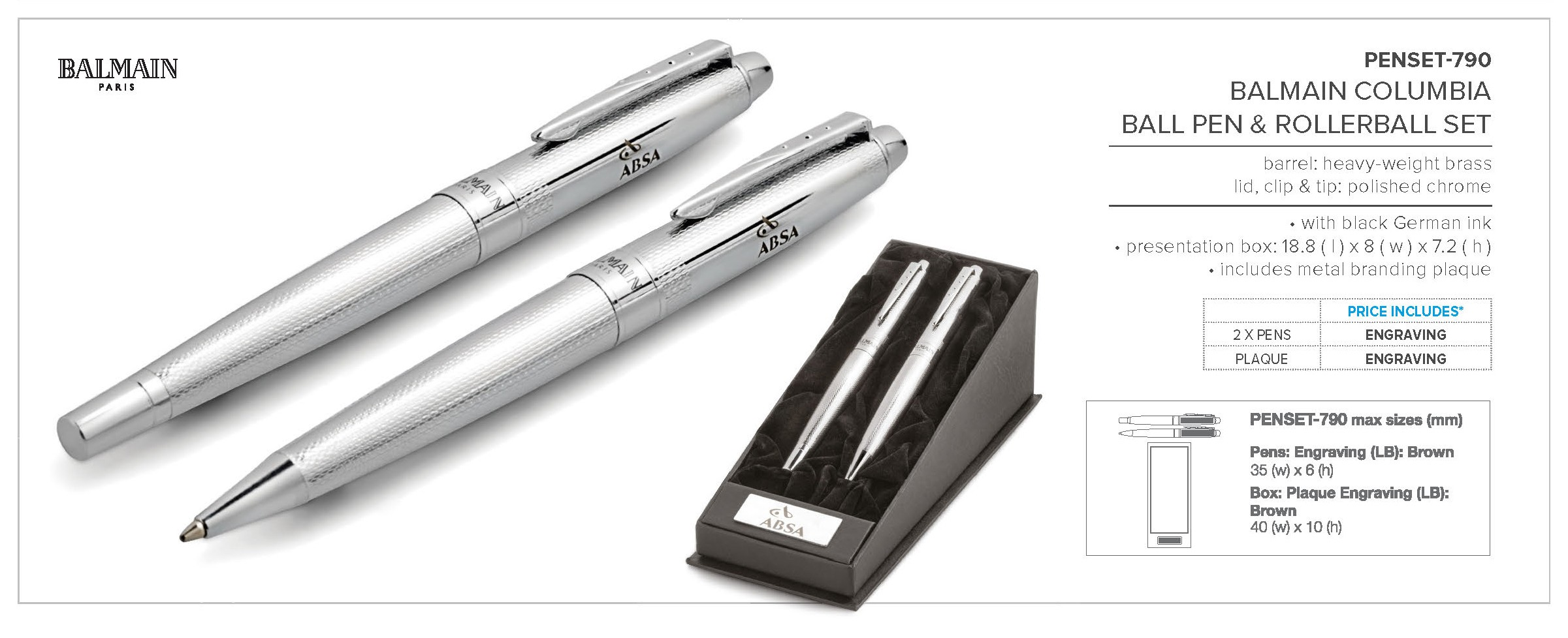 This Stylish Metal Rollerball Pen Is The Perfect Companion To Any Faber Castell Neo Slim Ballpoint Stylus Stainless Steel Matt An Elegant And Balmain Ball