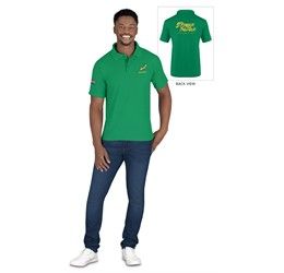 Mens Springbok Pique Golf Shirt  Sample