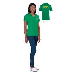 Ladies Springbok Pique Golf Shirt  Sample