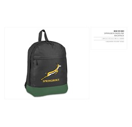 Springbok Baseline Backpack  Sample