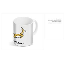 Springbok Blank Canvas Sublimation Mug  Sample