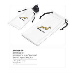 Springbok Boardwalk Sunglasses Pouch  Sample