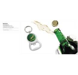 Springbok Chevron Bottle Opener Keyholder  Sample