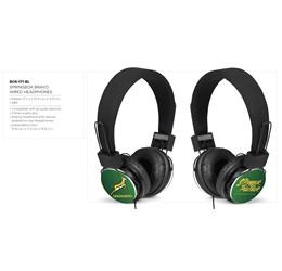 Springbok Bravo Wired Headphones  Sample