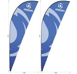 Legend 3m Sharkfin Flying Banner Skin (Set Of 2)