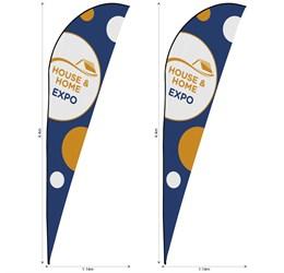 Legend 4m Sharkfin Flying Banner Skin (Set Of 2)