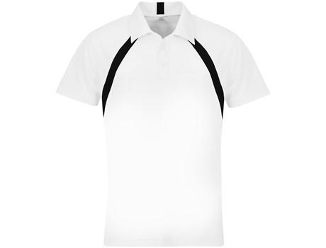 Slazenger Mens Jebel Golf Shirt in Black Code SLAZ-1001