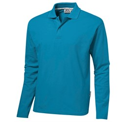 Golfers - Slazenger Zenith Mens Long Sleeve Golf Shirt