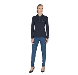 Ladies Long Sleeve Zenith Golf Shirt