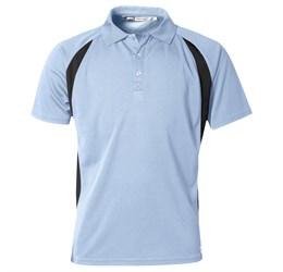 Golfers - Mens Apex Golf Shirt  Light Blue Only