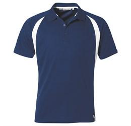 Golfers - Mens Apex Golf Shirt  Navy Only