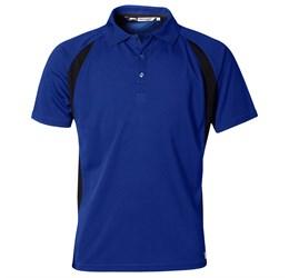 Golfers - Mens Apex Golf Shirt  Royal Blue Only
