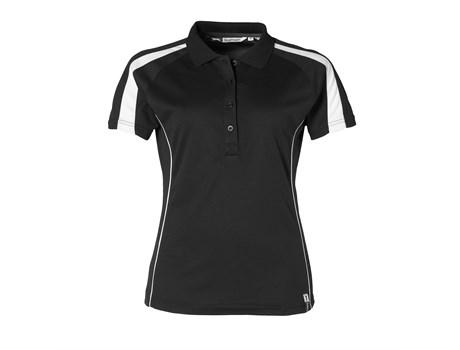 Slazenger Ladies Horizon Golf Shirt in black Code SLAZ-3206