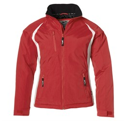 Ladies Apex Winter Jacket  Red Only