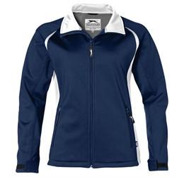 Ladies Apex Softshell Jacket  Navy Only
