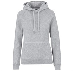 Ladies Smash Hooded Sweater  Grey Only