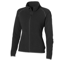 Ladies Ignition Micro Fleece Jacket  Black Only