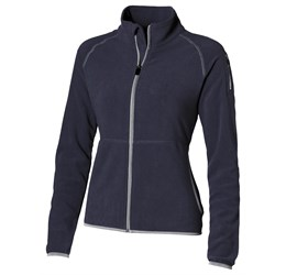 Ladies Ignition Micro Fleece Jacket  Navy Only