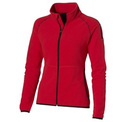 Ladies Ignition Micro Fleece Jacket  Red Only