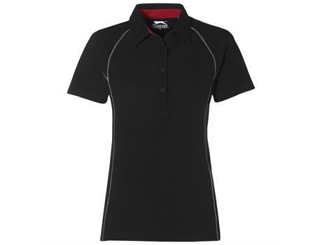 Slazenger Ladies Victory Golf Shirt in Black Code SLAZ-4933