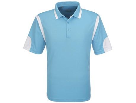 Slazenger Mens Genesis Golf Shirt in Aqua Code SLAZ-5830