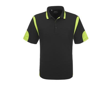 Slazenger Mens Genesis Golf Shirt in lime Code SLAZ-5830