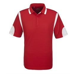 Golfers - Mens Genesis Golf Shirt  Red Only