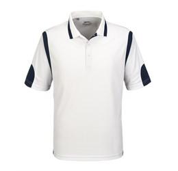 Golfers - Mens Genesis Golf Shirt White Only