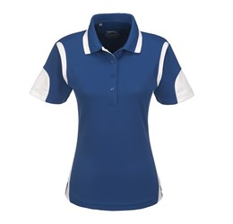 Ladies Genesis Golf Shirt  Blue Only