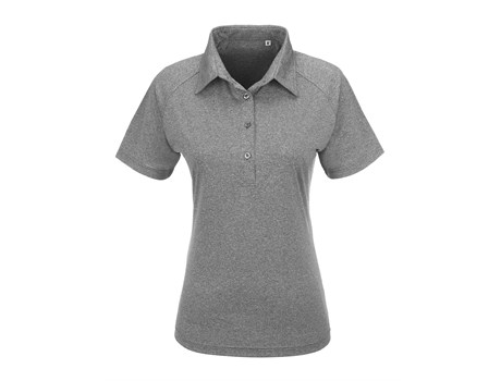 Slazenger Ladies Triumph Golf Shirt in grey Code SLAZ-5836