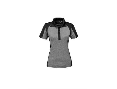 Slazenger Ladies Matrix Golf Shirt in Black Code SLAZ-7601