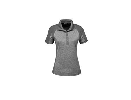 Slazenger Ladies Matrix Golf Shirt in Grey Code SLAZ-7601