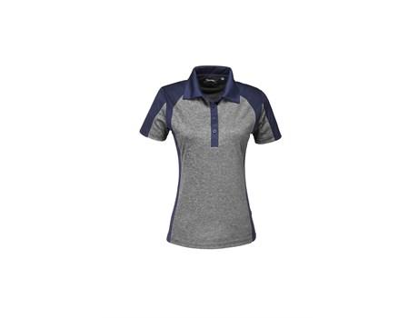 Slazenger Ladies Matrix Golf Shirt in navy Code SLAZ-7601