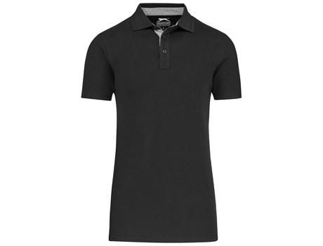 Slazenger Mens Hacker Golf Shirt in black Code SLAZ-7602