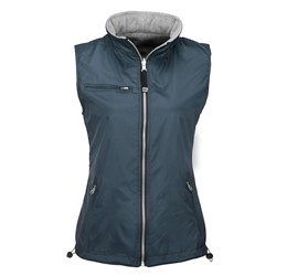 Ladies Reversible Fusion Bodywarmer  Navy Only