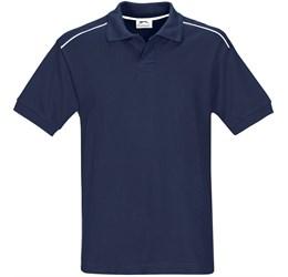 Golfers - Mens Backhand Golf Shirt  Navy Only