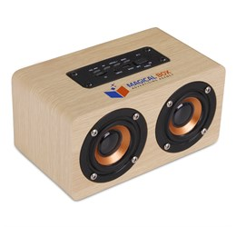 Amazon Deco Bluetooth Speaker  Natural