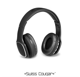 Swiss Cougar Rio Bluetooth Headphones  Black Only